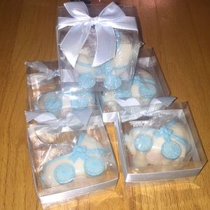 5 candles for baby shower favors